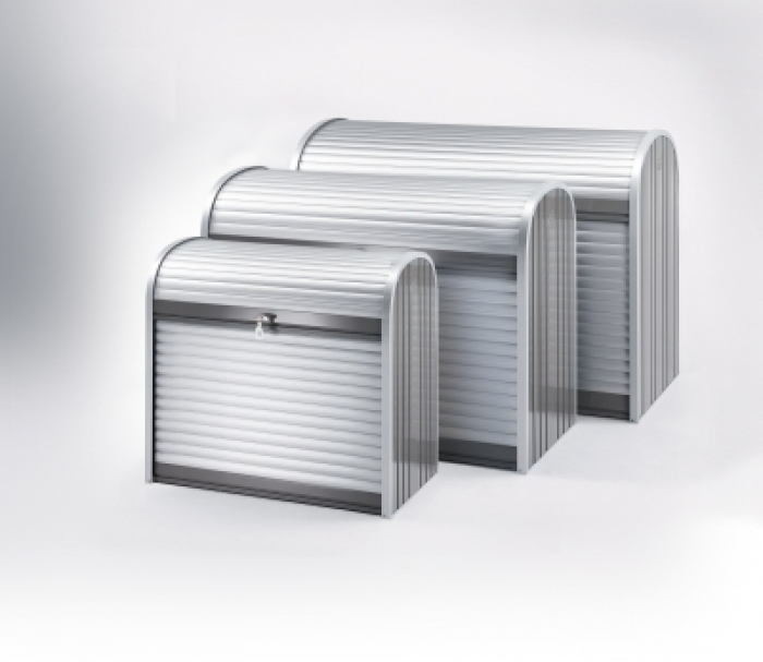 metall rollladenbox storemax gartencenter holzum. Black Bedroom Furniture Sets. Home Design Ideas